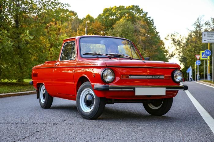 Оригинальная модель с заводских цехов вышла на улицы. /Фото: auto.mail.ru