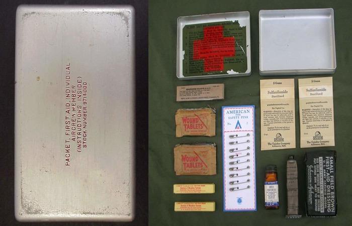 Аптечка солдата армии США с Бензидрином. /Фото: alternathistory.com