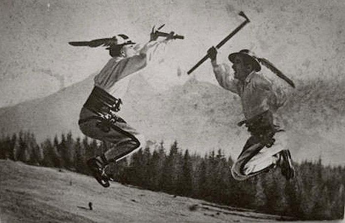 Танец с валашкой. /Фото: reibert.info
