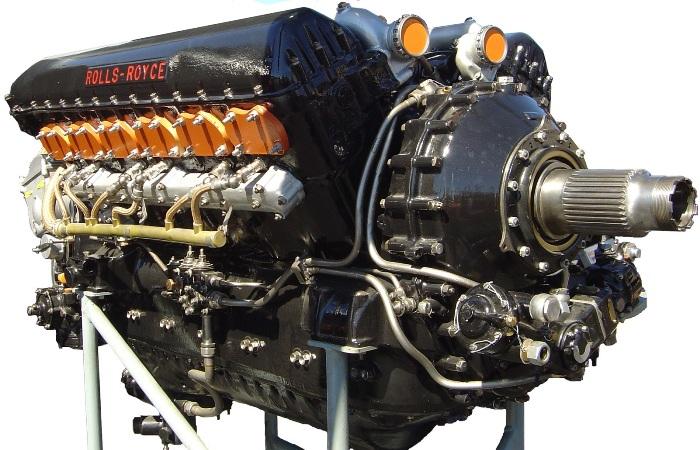 Двигатель Мерлин от Роллс-Ройс. /Фото: wikipedia.org