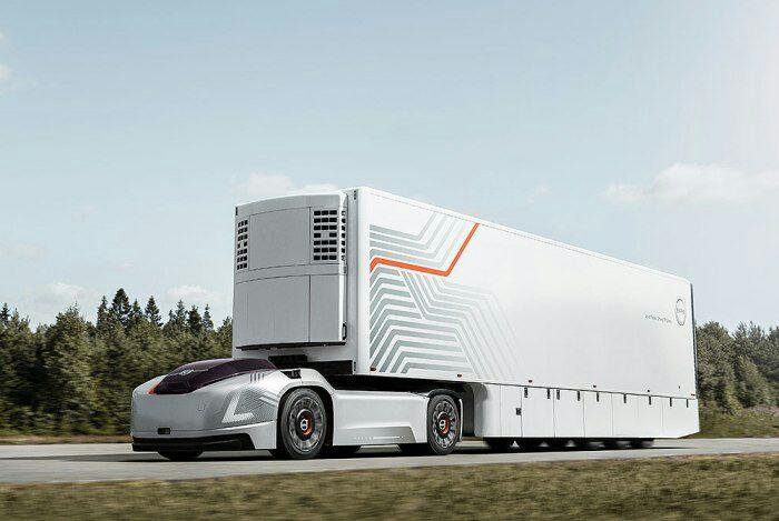 Уже сегодня у грузовиков-роботов есть большой потенциал. /Фото: ttnews.com
