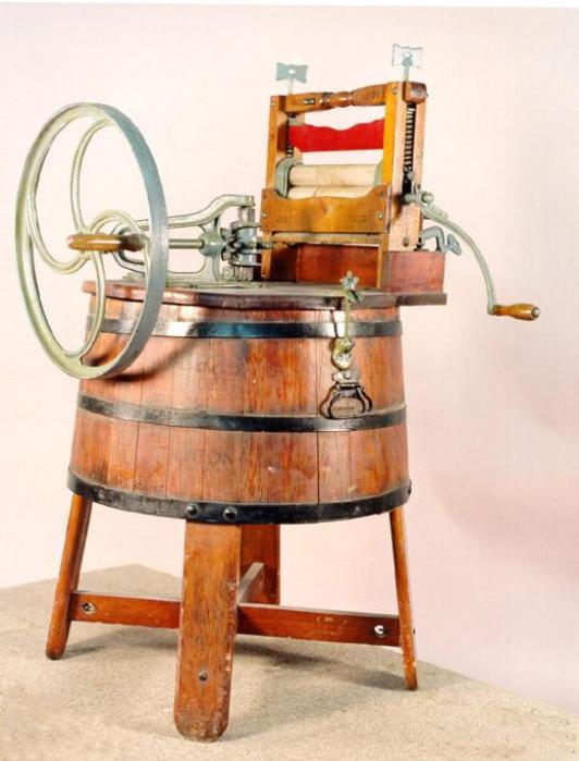 Примерно так выглядел стиральный агрегат Кинга. /Фото: vilingstore.net