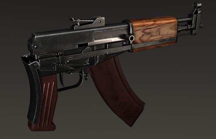 Малоизвестное детище знаменитого советского оружейника. /Фото: turbosquid.com