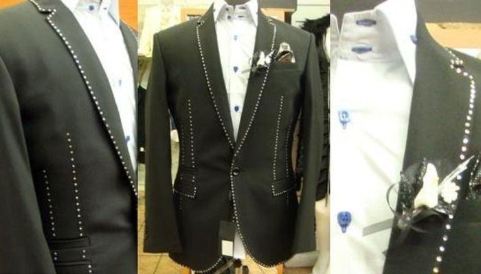 На костюм ушло полсотни бриллиантов. /Фото: style4man.com