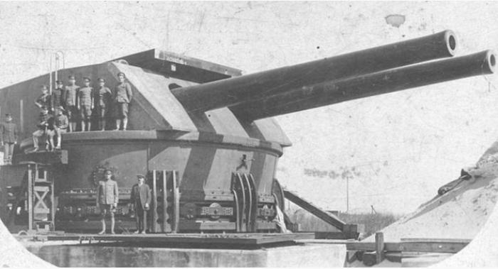 Мощное оружие делало сооружение неприступным. /Фото: worldofwarships.ru