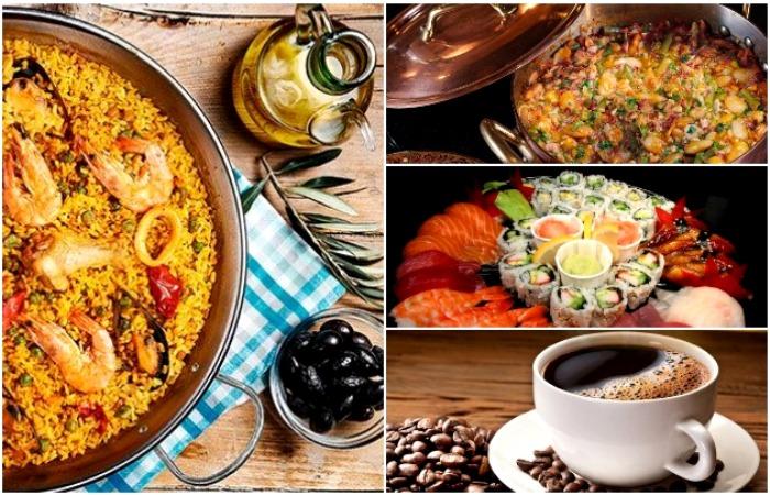 А вот тяжелую и калорийную пищу - редко и в меру. /Фото: gurmantur.com, eda.ru, uznayvse.ru, akchabar.kg