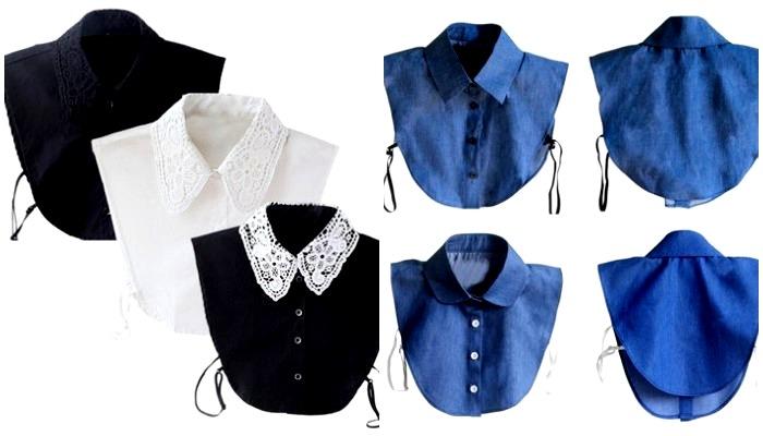Фальш-блузки сегодня можно найти на любой вкус и цвет. /Фото: klubok.com