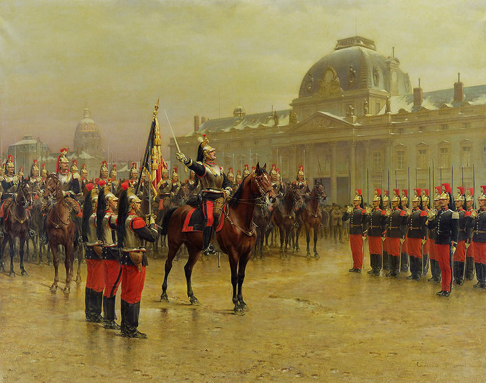 В скором времени кирасы носили лишь кавалеристы. /Фото: livejournal.com