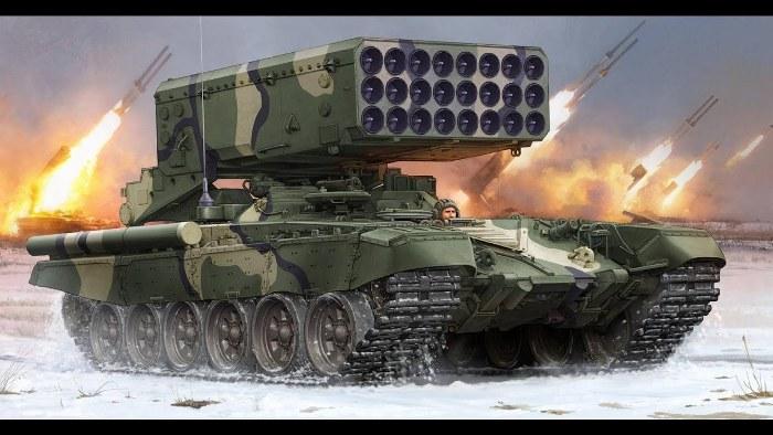 ТОС-1М «Солнцепёк» - еще более-менее логичное название. /Фото: youtube.com