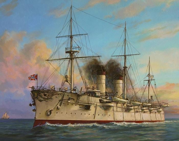 Несмотря на серьезные повреждения, экипаж продолжал отважно сражаться. /Фото: war-book.ru