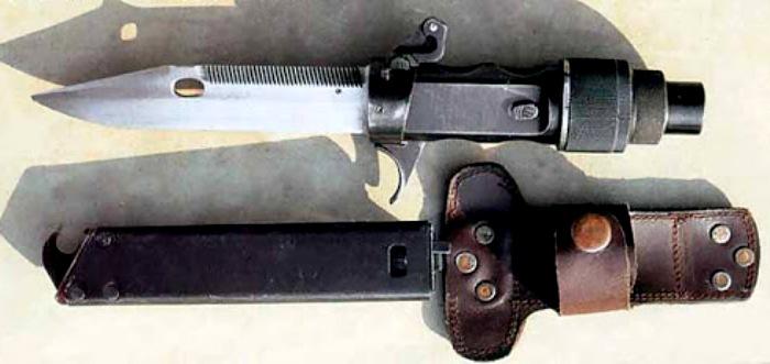 Стреляющий нож с кобурой. /Фото: zonwar.ru