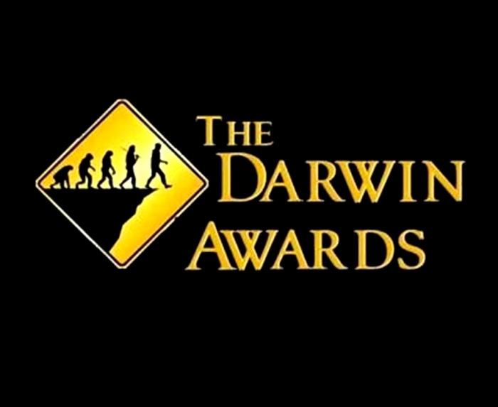 Премия Дарвина достается тем, кто проявляет просто чудеса глупости. /Фото: youtube.com