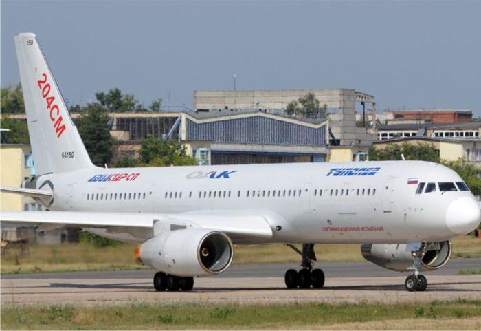 Доработанном у Ту-204СМ также не удалось завоевать популярность. /Фото: technorussia.su