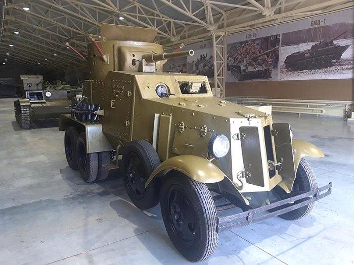БА-6 в экспозиции Военного музея в Москве. /Фото: wikipedia.org