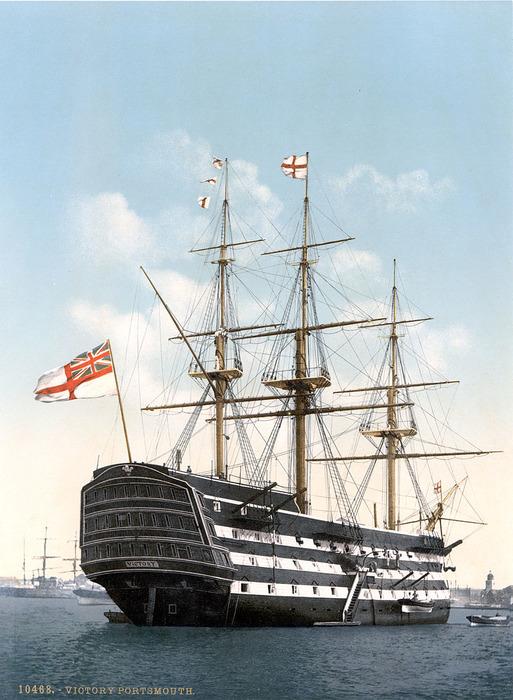 Легендарный флагман британской флотилии. /Фото: wikipedia.org