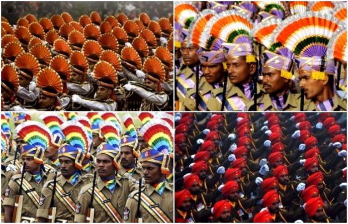 Разнообразие парадных мундиров в Индии поражает. /Фото: vestnikk.ru