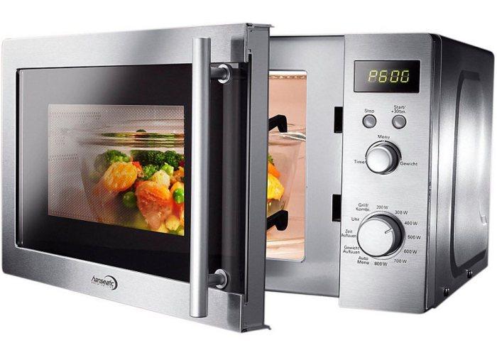 Микроволновая печь уже давно прописалась у нас на кухне. /Фото: salik.biz