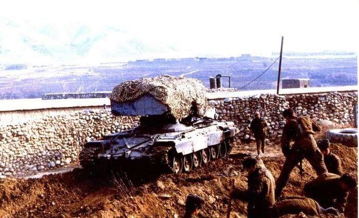 ТОС-1 во время войны в Афганистане. /Фото: yaplakal.com