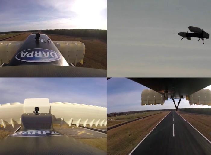 Запись с камер во время испытаний VTOL X-Plane. /Фото: youtube.com