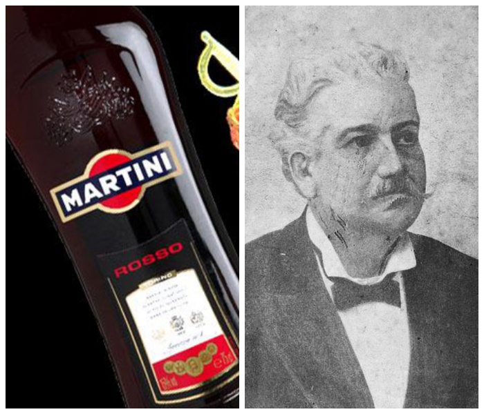 Алессандро Мартини дал имя алкогольному напитку. /Фото: mirtesen.ru