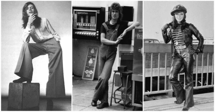 В 1970-е в Советском союзе была повальная мода на клёш. /Фото: my-cccp.ru