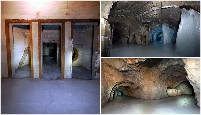 Сегодня в бункере для правительства можно найти только воду. /Фото: livejournal.com