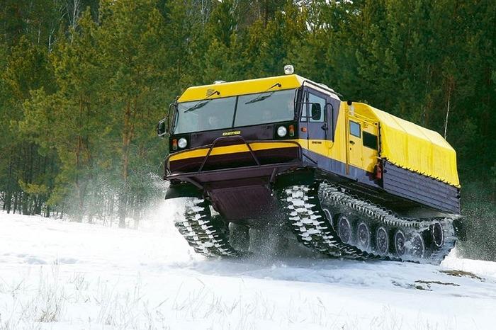 Один из самых известных и надёжный современных вездеходов для Крайнего Севера. /Фото: atvchetra.ru