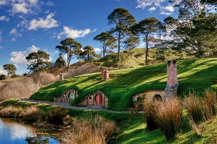 Новая Зеландия - кладязь локаций для съёмок. /Фото: zelenyimir.ru