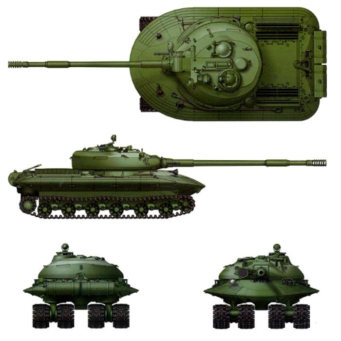 Компьютерная модель Объекта 279. /Фото: armedman.ru