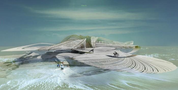 Один из концепт-артов, презентующих, как может выглядеть уникальный остров. /Фото: technovery.com