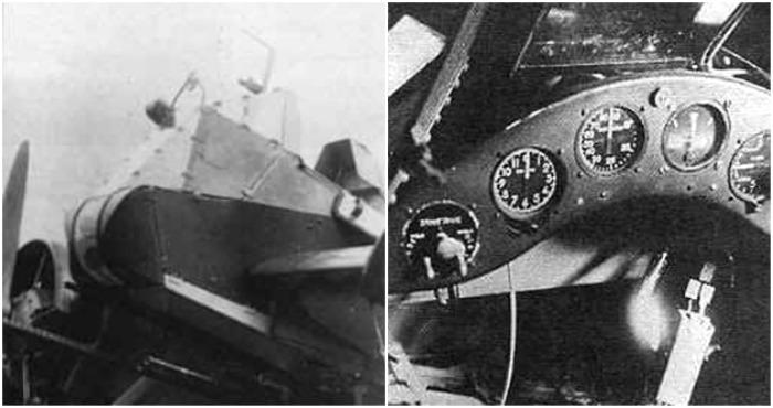 Кабина пилота и приборная доска самолета. /Фото: wikipedia.org, airwar.ru