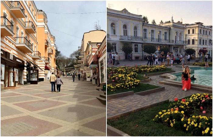 Здесь сходство сразу с рядом европейских городов. /Фото: sochi-fornia.ru, ejway.ru