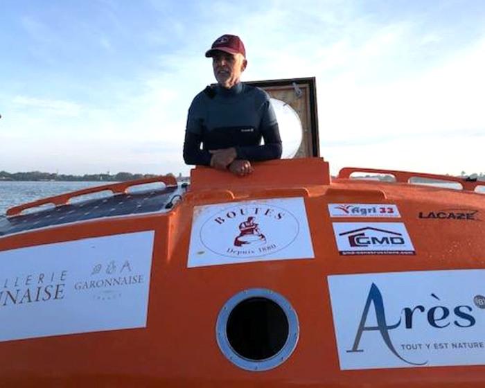 Бочка с путешественником полгода дрейфовала по течению океана. /Фото: peoples.ru