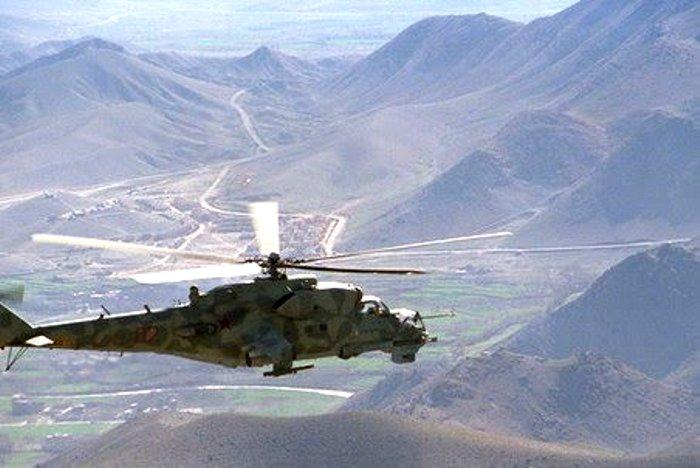 Во время войны в Афганистане. /Фото: gazeta.ru
