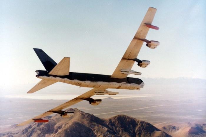 Самолет В-52, аналогичный разбившемуся. /Фото: wikipedia.org