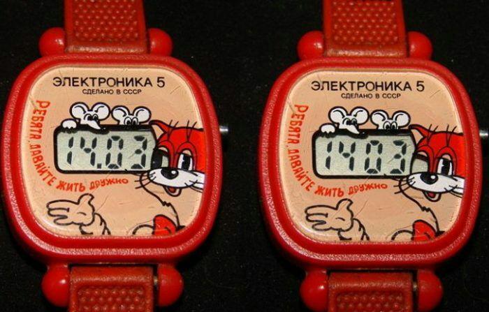 Детские наручные часы. /Фото: fishki.net