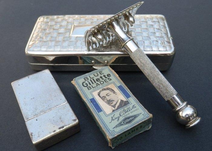 Безопасная бритва от Gillette стала очень популярной у солдат. /Фото: sekretmira.ru