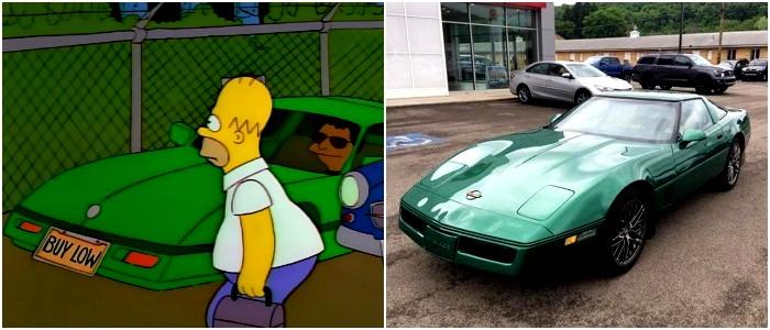 Неудивительно, что столь запоминающаяся машина появилась в мультсериале. /Фото: corvetteforum.com, musclecarfacts.com