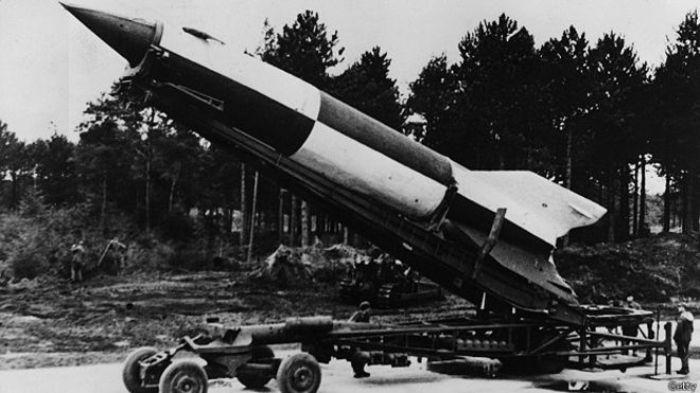 Опытный образец ракеты Вассерфаль. /Фото: russian7.ru