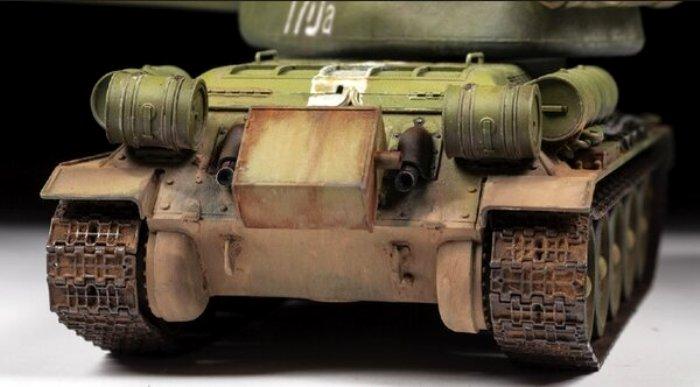Вот так выглядела печка на корме Т-34. /Фото: mtdata.ru