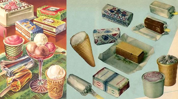 Любимое советское мороженое. /Фото: livehournal.com