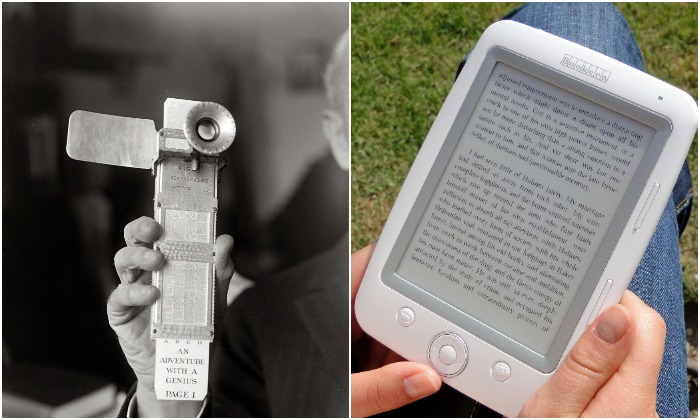 Поразительная трансформация для технологии электронной книги. /Фото: p-dpa.net, wikiрedia.org