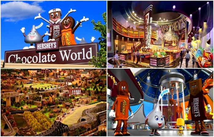 В парке можно даже посмотреть на производство шоколада. /Фото: newtours.com.ua