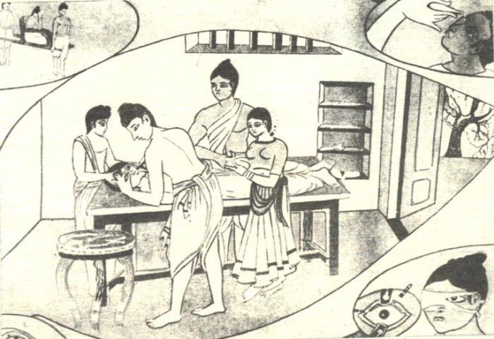 Пластика была в ходу еще в древней Индии. /Фото: slideplayer.com