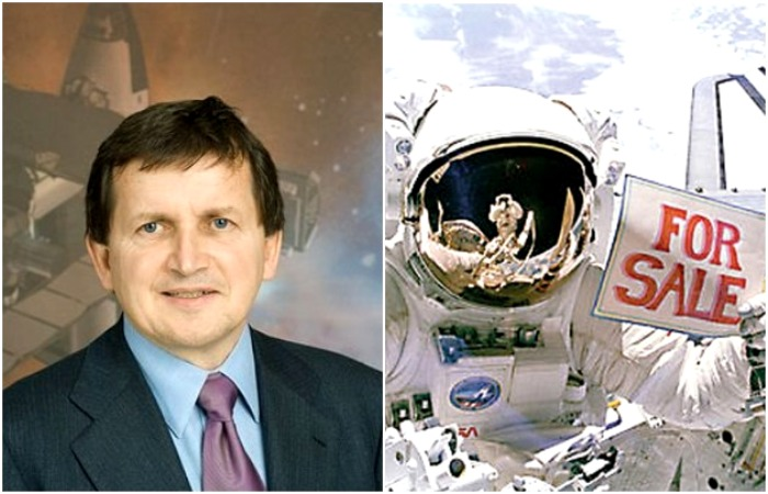 Две «турпоездки» в космос. /Фото: wikipedia.org, restbee.ru