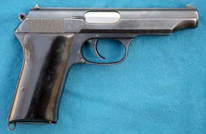 Перспективный пистолет так и не пустили в серию. /Фото: popmech.ru
