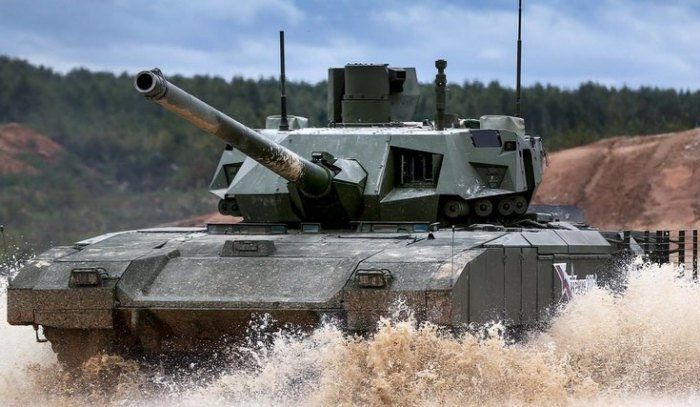 Опыт работы с Черным орлом помог в создании знаменитой Арматы. /Фото: army-news.ru