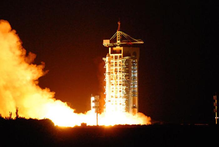 Запуск китайского спутника квантовой связи. /Фото: ria.ru