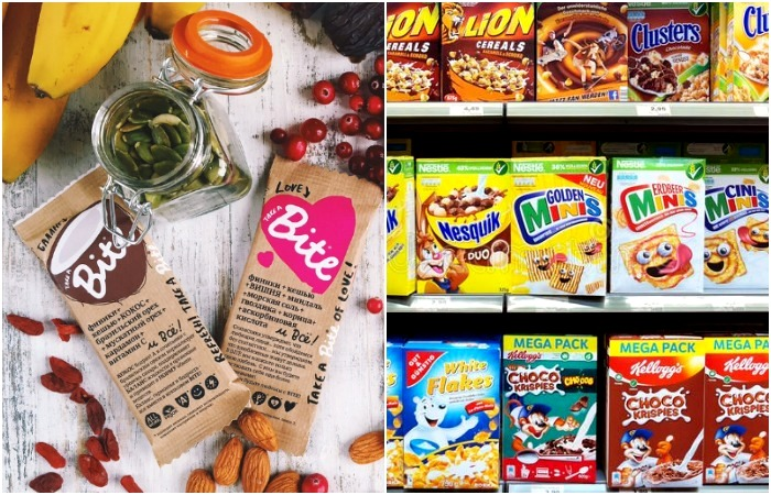 Полезность этих продуктов искусственно увеличена. /Фото: mladenec-shop.ru, pinterest.de