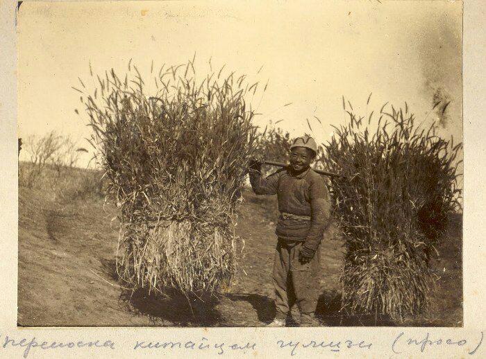 Китайский фермер в стеганой куртке. /Фото: fishki.net